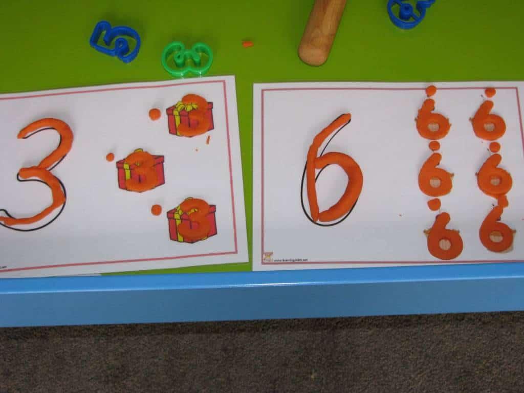 Number Play Dough Mats8
