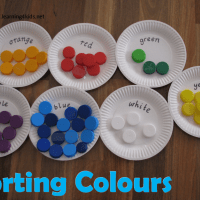sorting - Colour Activities For Kids