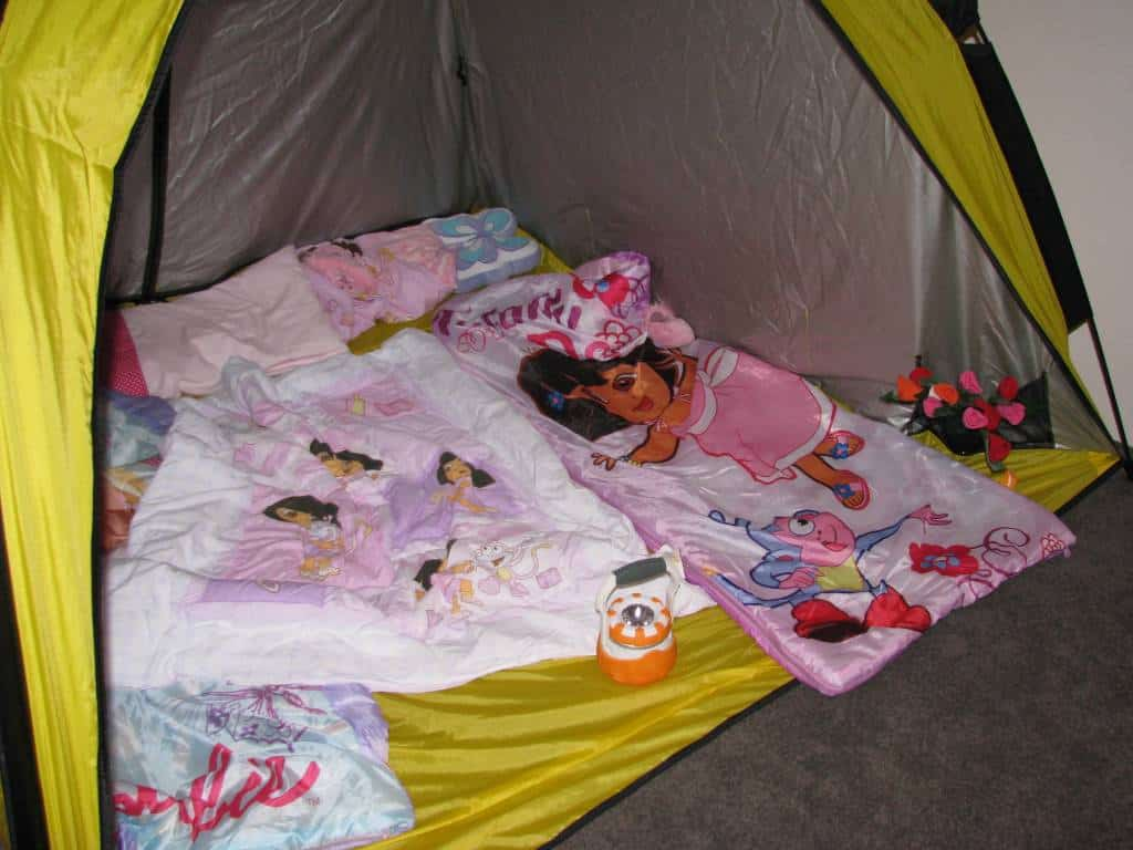 Rainy Day Activity Indoor Camping Learning 4 Kids