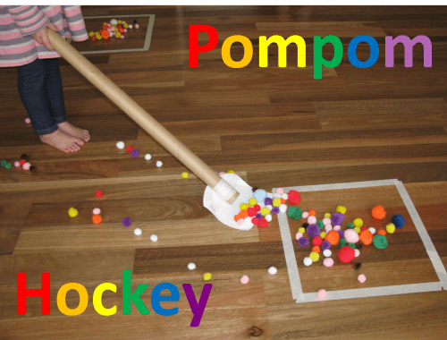 Pompom Hockey Learning 4 Kids