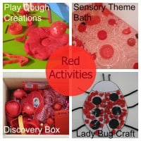 Colour/ color Red Activities
