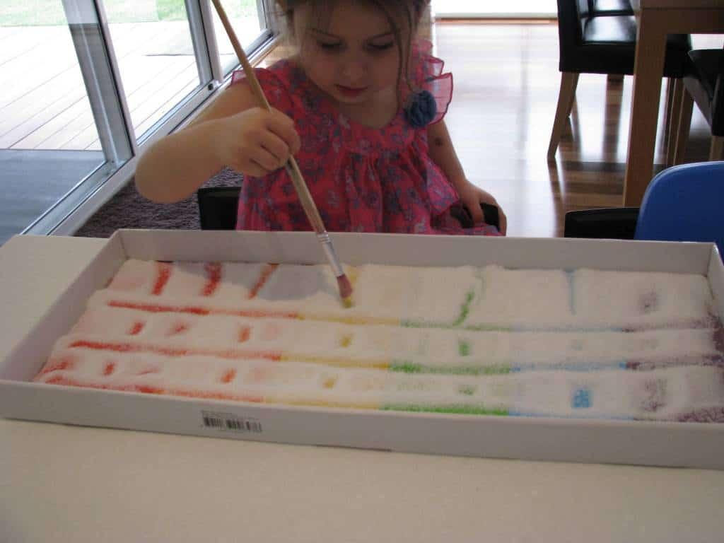 Tray Rainbow Rainbow Salt Tray 8