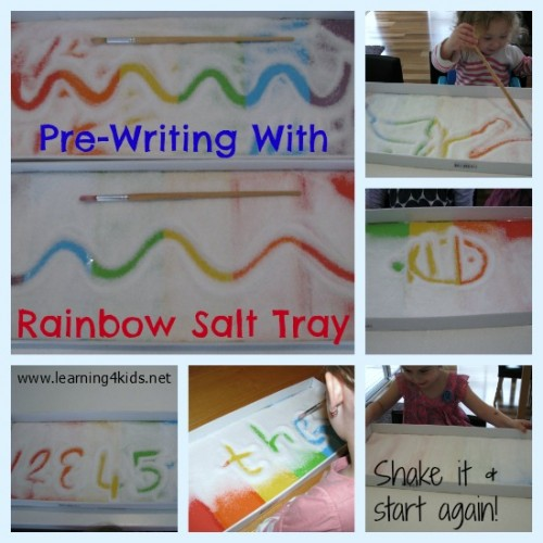 Pre writing activities