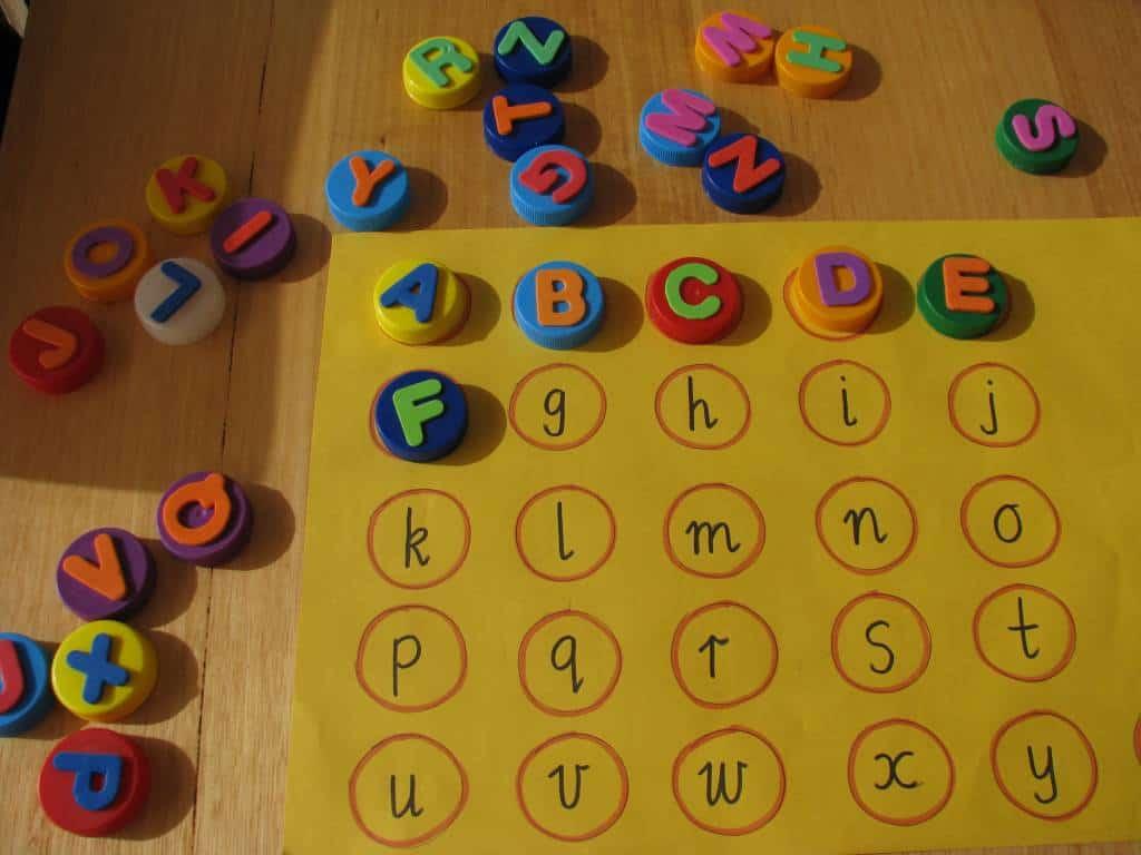 list of alphabet activities learning 4 kids