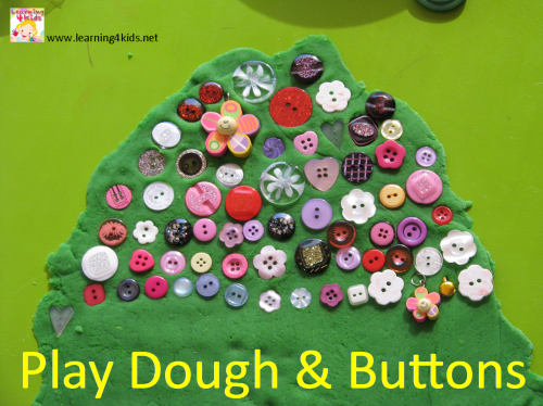 Play dough activity ideas for kindergarten, preschool and toddlers