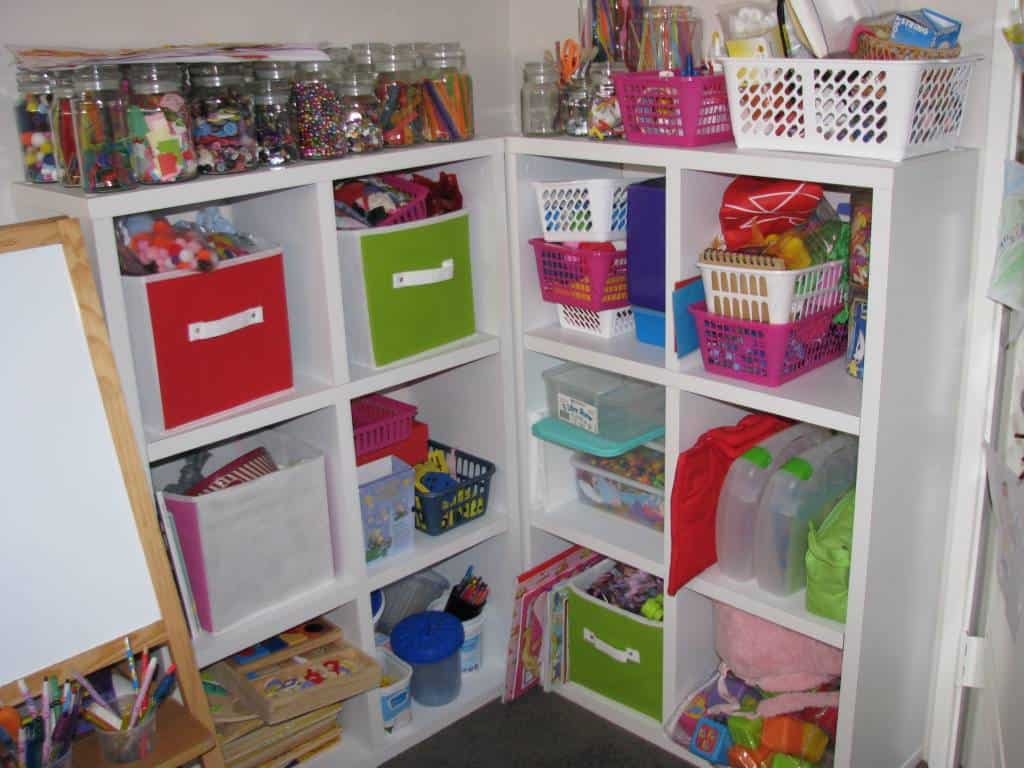 Bookshelf Storage Chest Kids Toy Box Plastic Play Room: Our Play Room Ideas 6