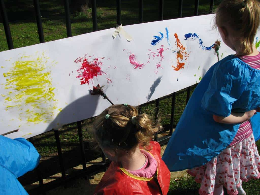 Children's Paint Summer Nature Painting by Sujin ... |Nature Paintings For Children