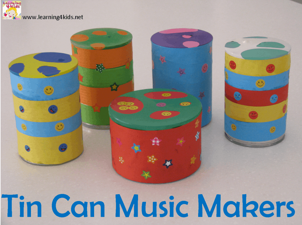Easy Homemade Musical Instruments for Kids