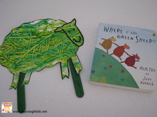 Activities for Where is the Green Sheep?