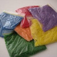 how to make sensory rice bags