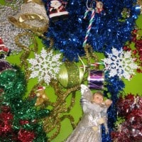 Ideas for setting up a sensory christmas sensory table