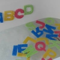 Alphabet Bath Sponges