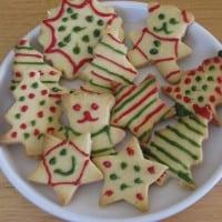 Simple Shortbread Christmas Cookies
