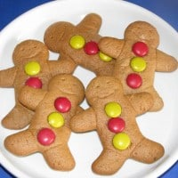 ginger bread man cookies for christmas