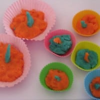 ideas for play dough cupcakes