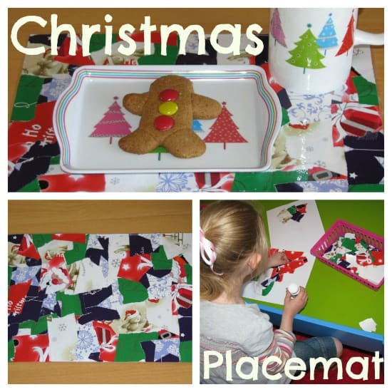 Christmas Collage Placemat