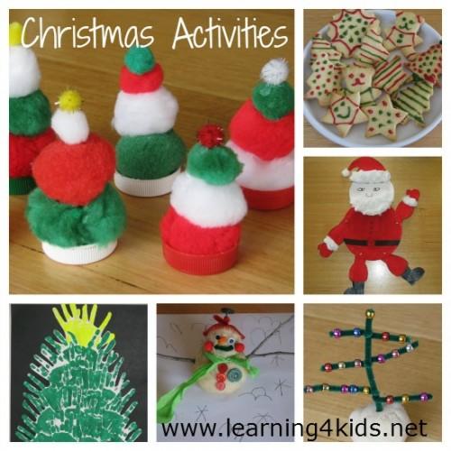 Free Christmas Activities EBook