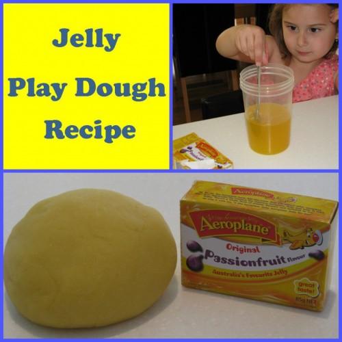 Jelly Play Dough Recipe