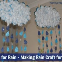 R is for Rain - Alphabet Letter R Activity