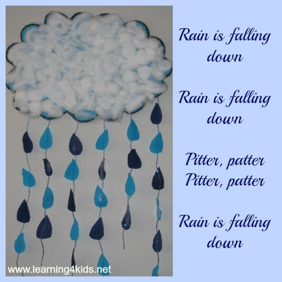 R Is For Rain Making A Craft