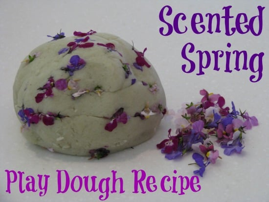Spring Play Dough - scented