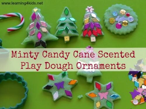 Christmas Play Dough Ornaments 1