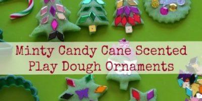 Christmas-Play Dough Ornaments