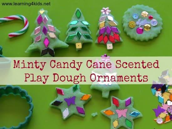 Christmas Play Dough Ornaments