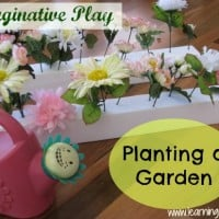 Imaginative Play - Planting a Garden