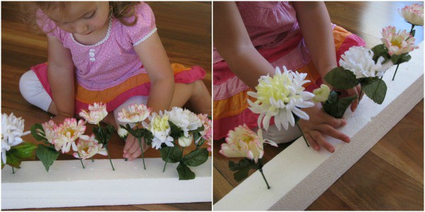 Planting Flowers With Toddlers