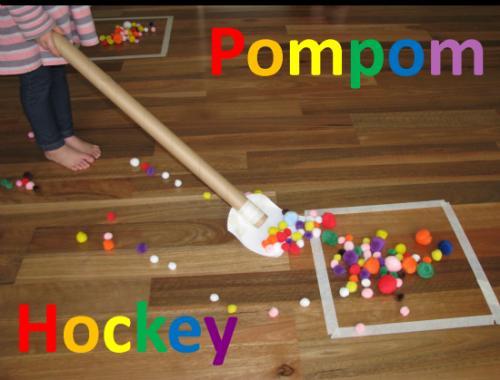 Pompom Hockey