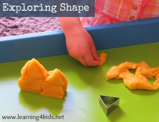 Exploring and constructing with shape