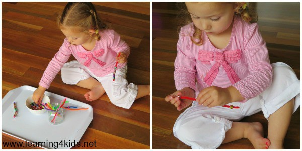 Fine Motor Learning Tray Activities 2