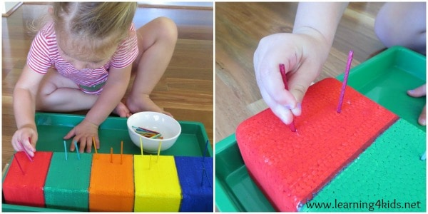 Learning Tray - Matching Colours