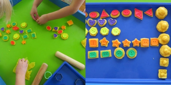 Let's Play with Shapes and Play Dough