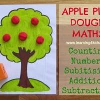 Play Dough Maths Activities 1
