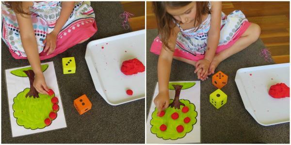 Play Dough Maths Games 3