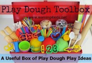 Play Dough Toolbox Series