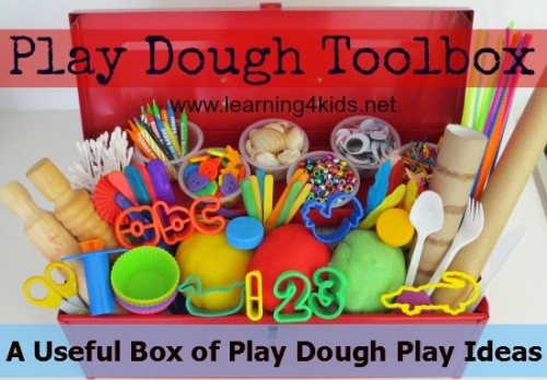 Play Dough Toolbox Series