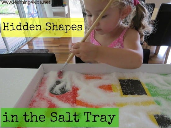 shape activities for kids - Hidden Pictures For Toddlers
