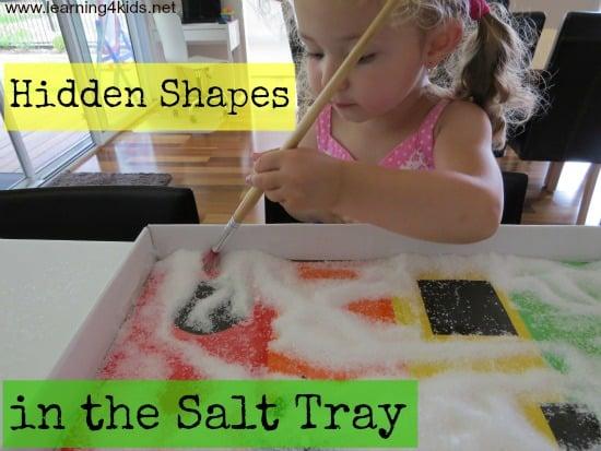 Shape Activities for Kids