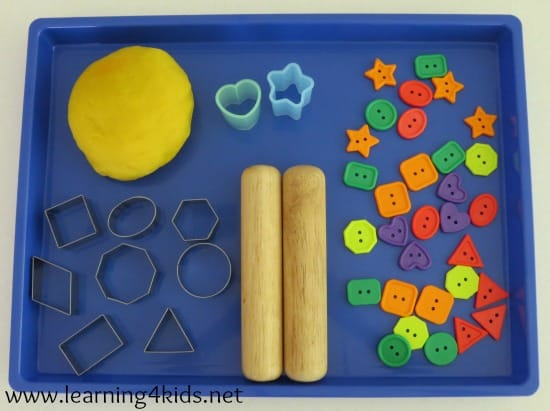 Shapes Play Dough 2