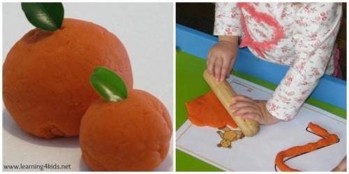 Orange Scented Play Dough1