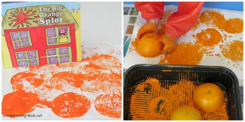 Orange activities for preschoolers