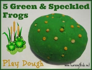 5 Green and Speckled Frogs Activity Ideas