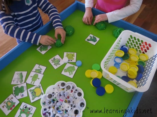 5 Green Speckled Frogs Activity Ideas on Subitising Printable Dice Game