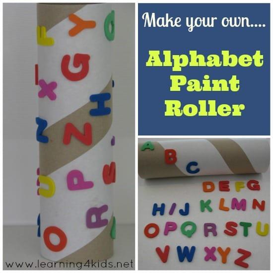 Alphabet Paint Roller 1