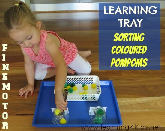 Learning Trays Activities