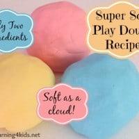 Cloud Play dough