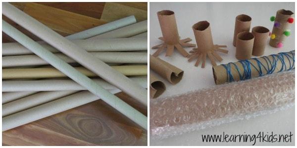 Cardboard Painting Ideas - learning4kids